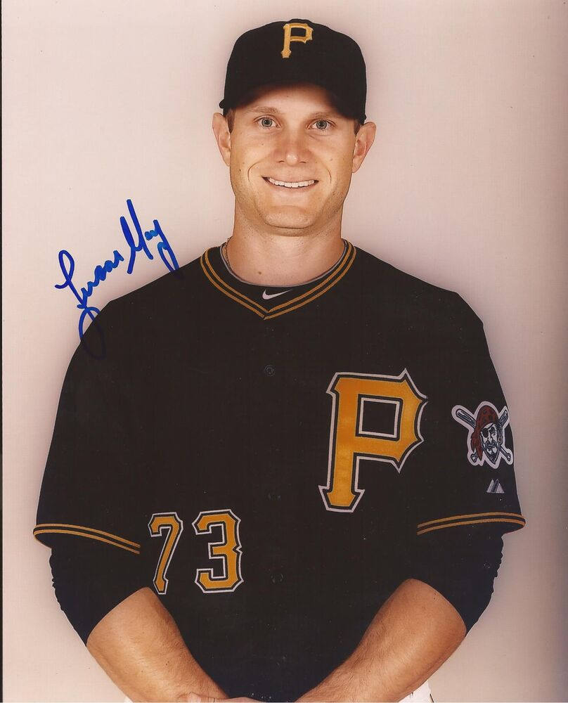Signed Autograph Moura Lucas Psg: LUCAS MAY PITTSBURGH PIRATES SIGNED AUTOGRAPHED 8X10 PHOTO
