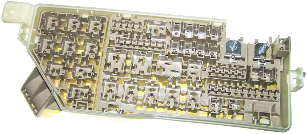mazda rx  rx  main fuse relay block bare