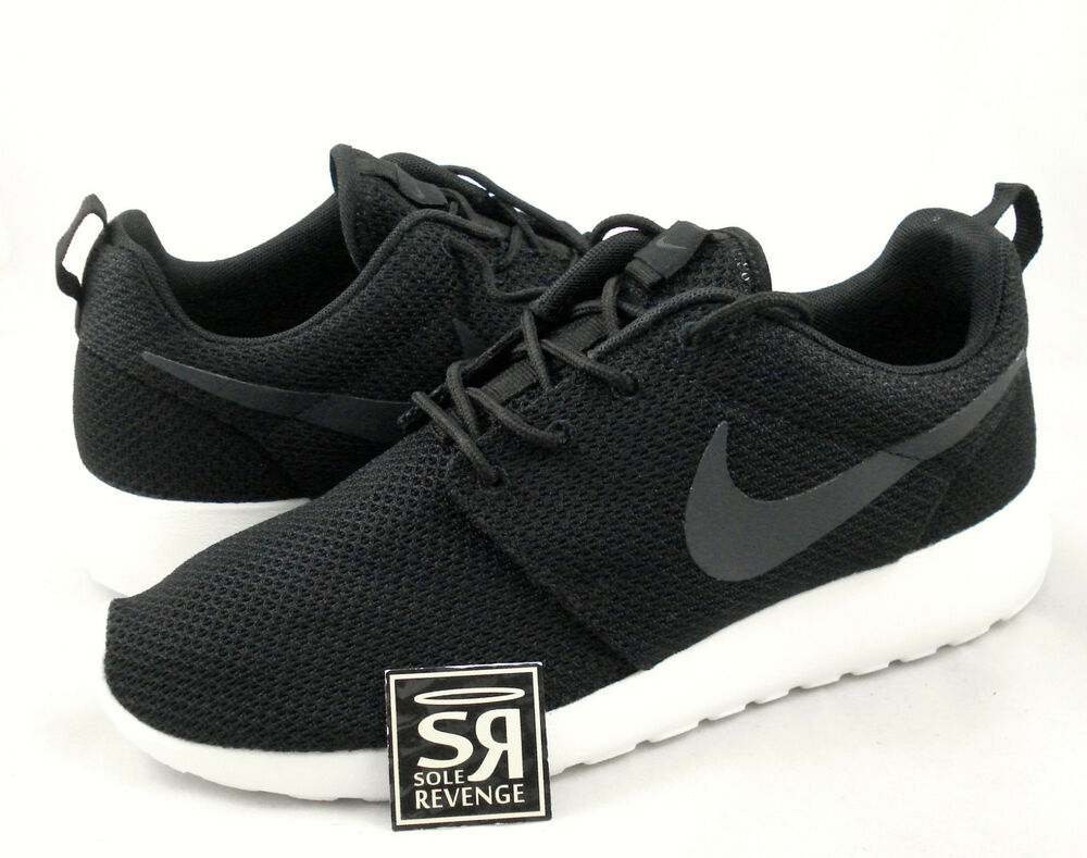 wqwar NEW Mens Nike Roshe Run Casual Shoes Black/White 511881 010 | eBay