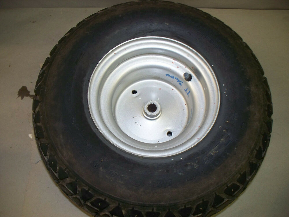 Lawn Tractor Rear Rims : Yamaha yt lawn tractor rear tire wheel ebay