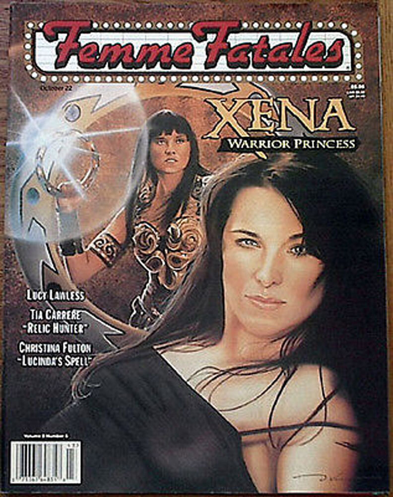 oct 22 1999 femme fatales magazine xena special issue g4636 ebay. Black Bedroom Furniture Sets. Home Design Ideas