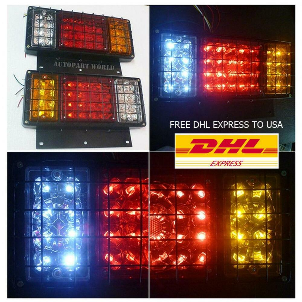 Isuzu Elf Npr Nkr Nhr NLR Truck Rear Tail Light Lamp ...