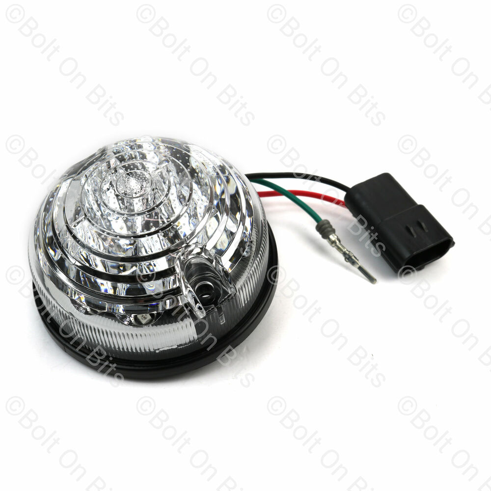 Rdx Led Clear Rear Stop  Tail Light  Lamp Land Rover