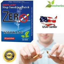 #1 BEST - STOP SMOKING PATCH 30 PATCHES *NICOTINE FREE* QUIT END 1 MONTH SUPPLY
