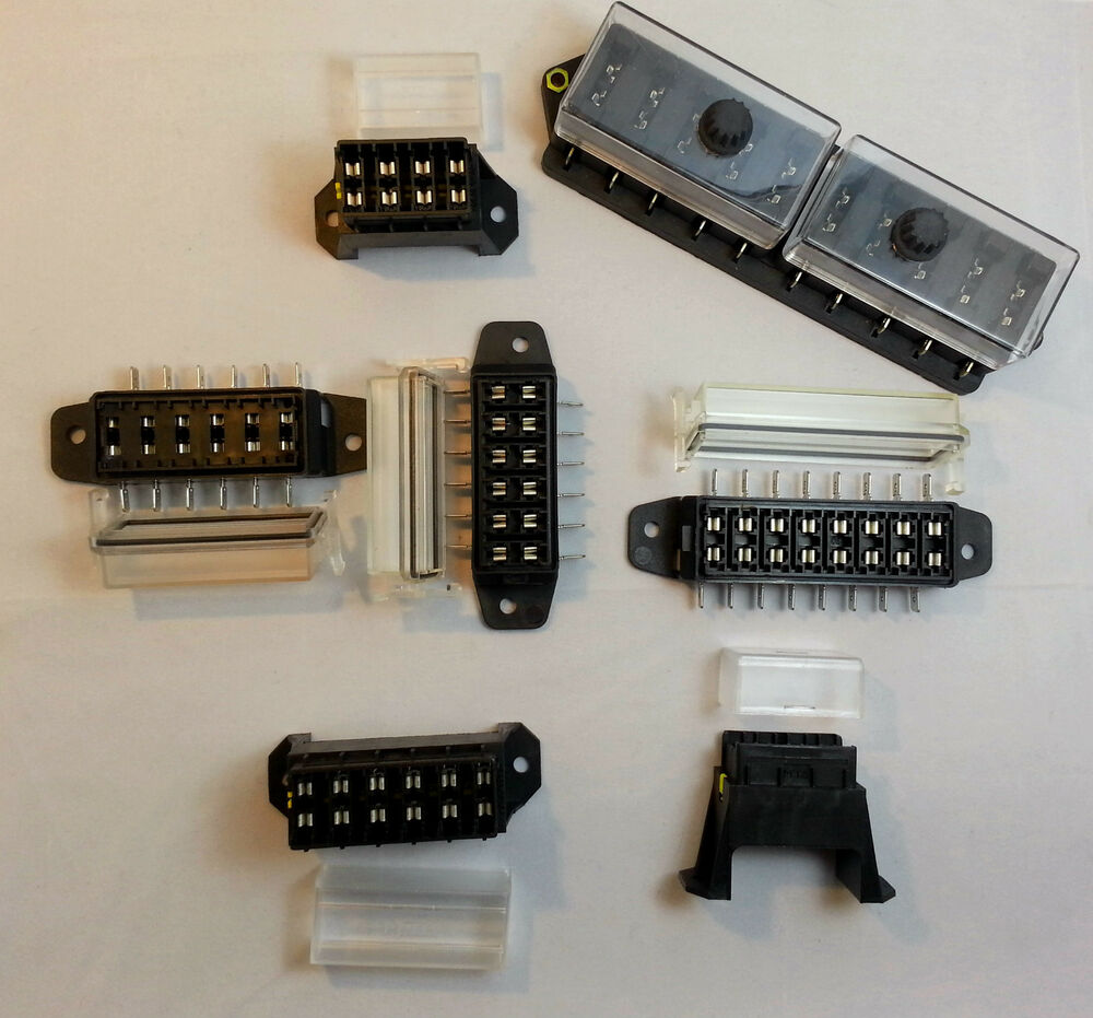 QUALITY AUTO FUSE BOX/ HOLDER 4 6 8 & 10 WAY + BLADE FUSES
