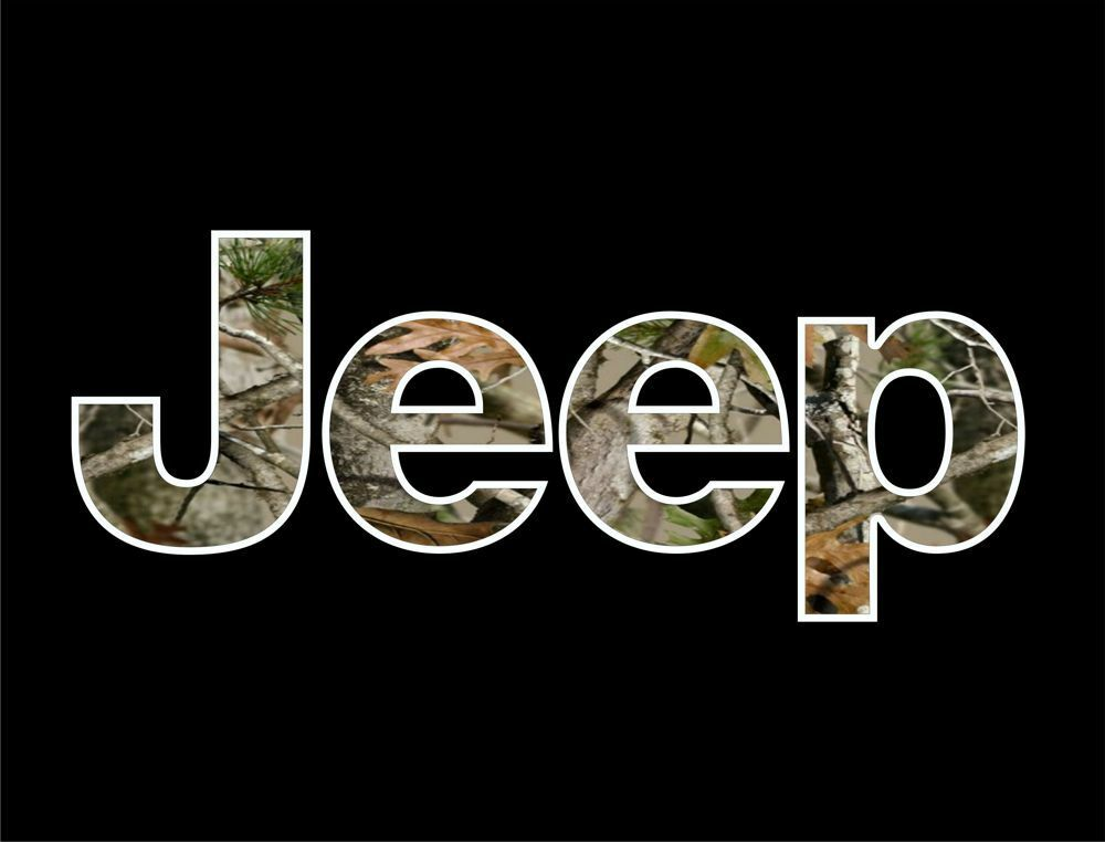 Jeep Camo T Shirt Vinyl Decal Wrangler 4x4 Cj Rubicon