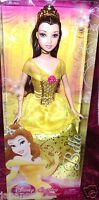 DISNEY PRINCESS BELLE SPARKLING PRINCESS YELLOW DRESS NEW IN BOX