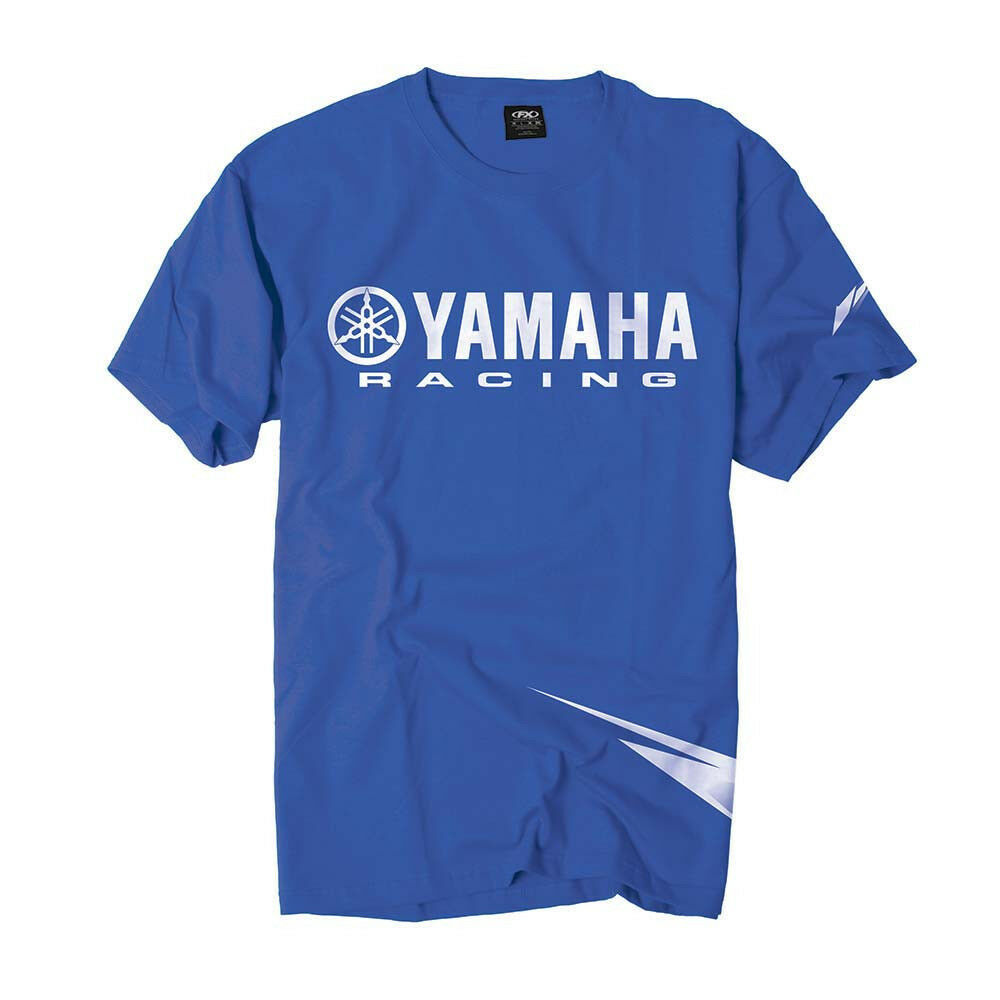 factory effex yamaha strobe blue t shirt tee adult. Black Bedroom Furniture Sets. Home Design Ideas