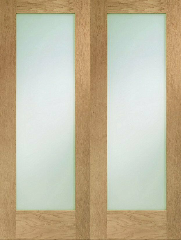 French door sets 2 doors to be used as french doors with for Used french doors