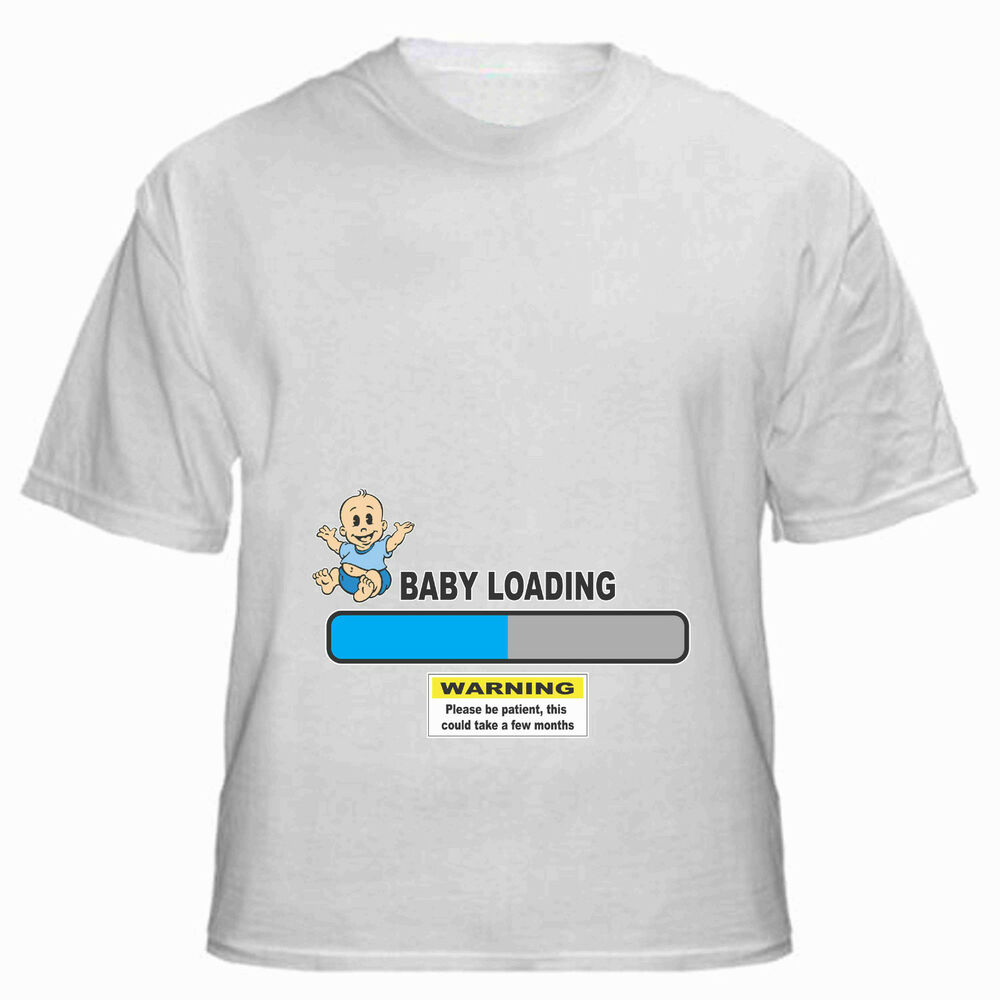 Baby Loading T Shirt For Boy Or Girl Pregnant Maternity