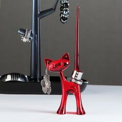 Koziol MIAOU Ring Stand - What s new, Pussycat? Fun Ring Holder in 8 Colors