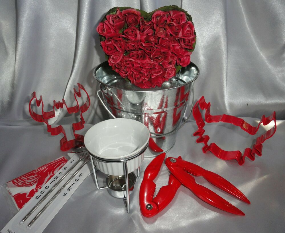 Summer Wedding Gift Ideas Lobster crab seafood set butter cookie ...