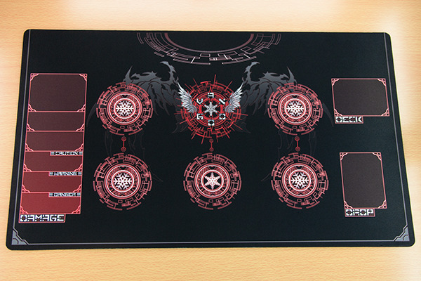 M776 Free Mat Bag Red Circles Custom Made Cardfight
