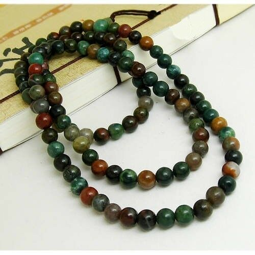 Tibetan 108 6mm indian jade buddhist meditation prayer for Zen culture jewelry reviews