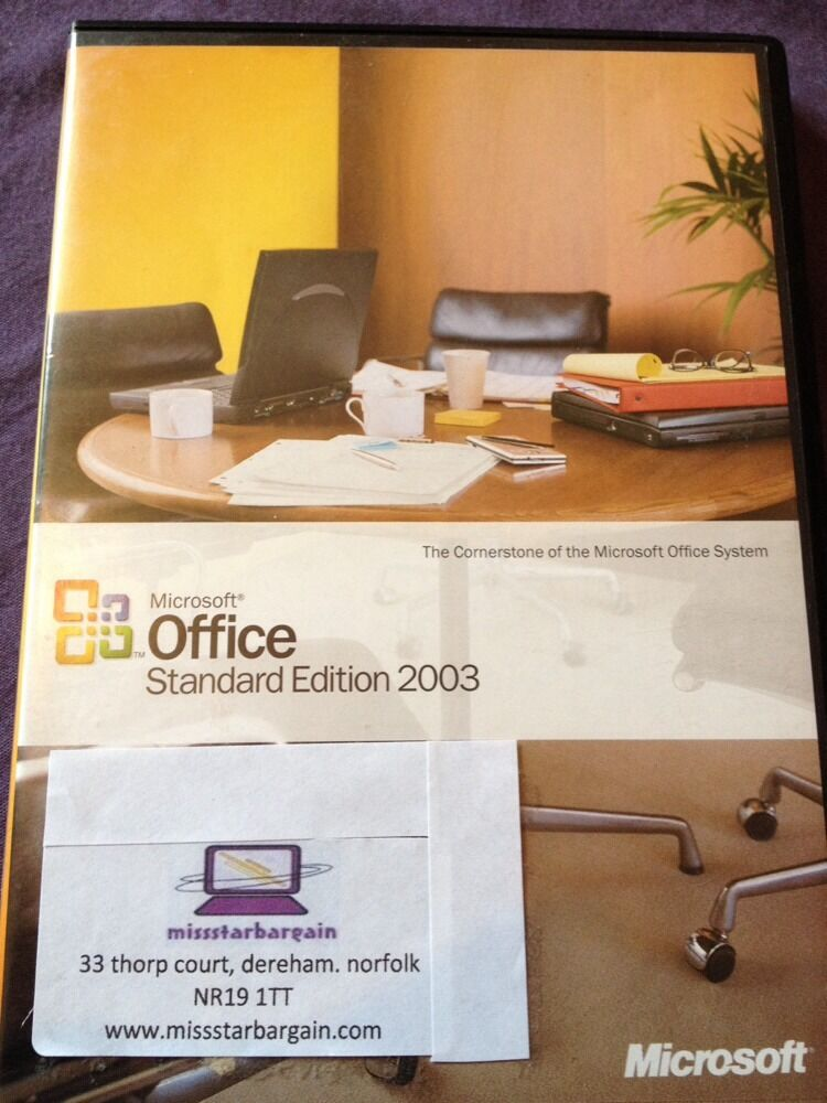 microsoft office 2003 standard upgrade windows retail. Black Bedroom Furniture Sets. Home Design Ideas