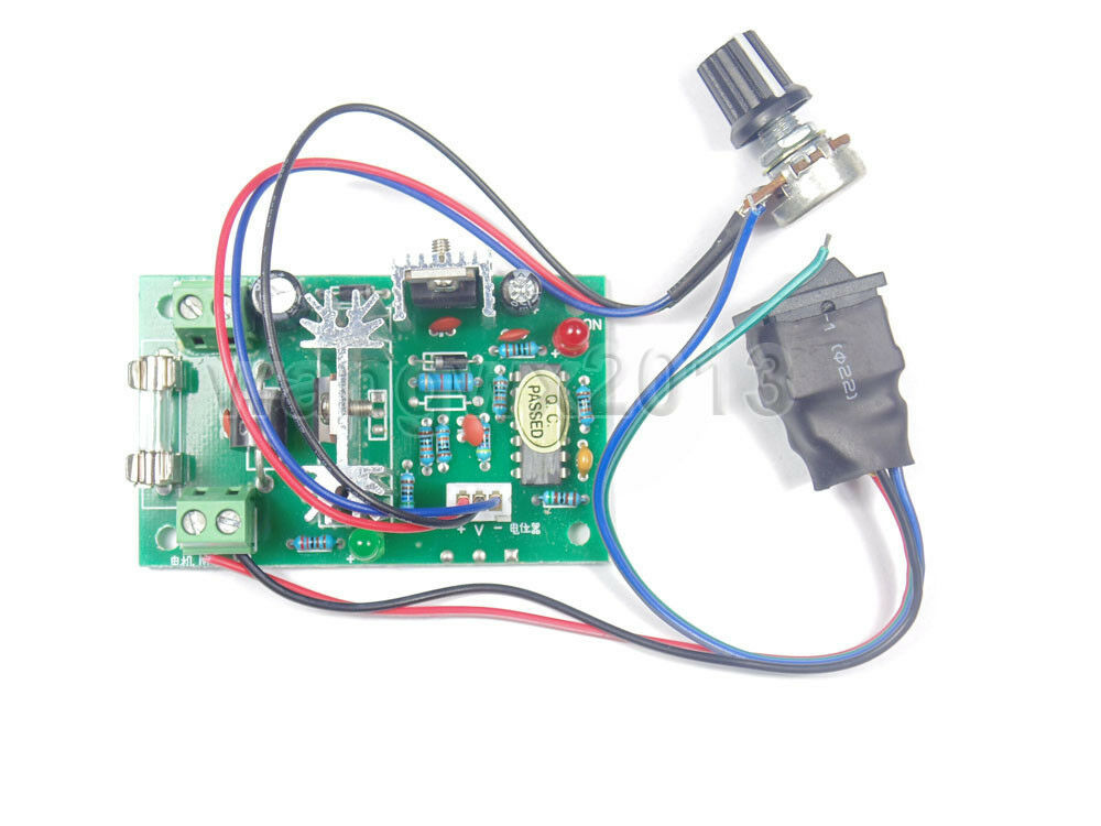 Dc12v 24v 5a 10a Pwm Reversible Dc Motor Speed Controller