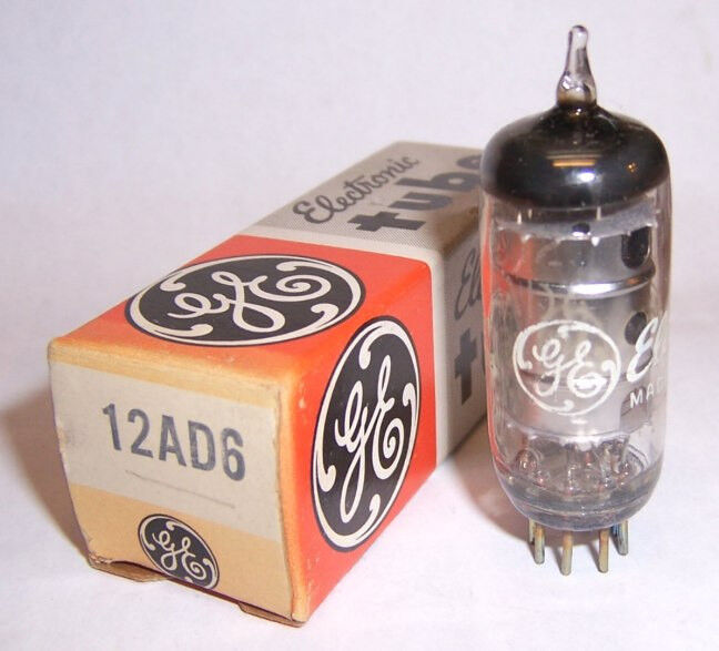 New in box g e ad auto car radio converter tube