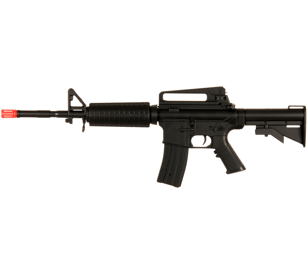 NEW WELL D94S M4 A1 M16 AEG ELECTRIC AUTOMATIC AIRSOFT ... M16 Airsoft