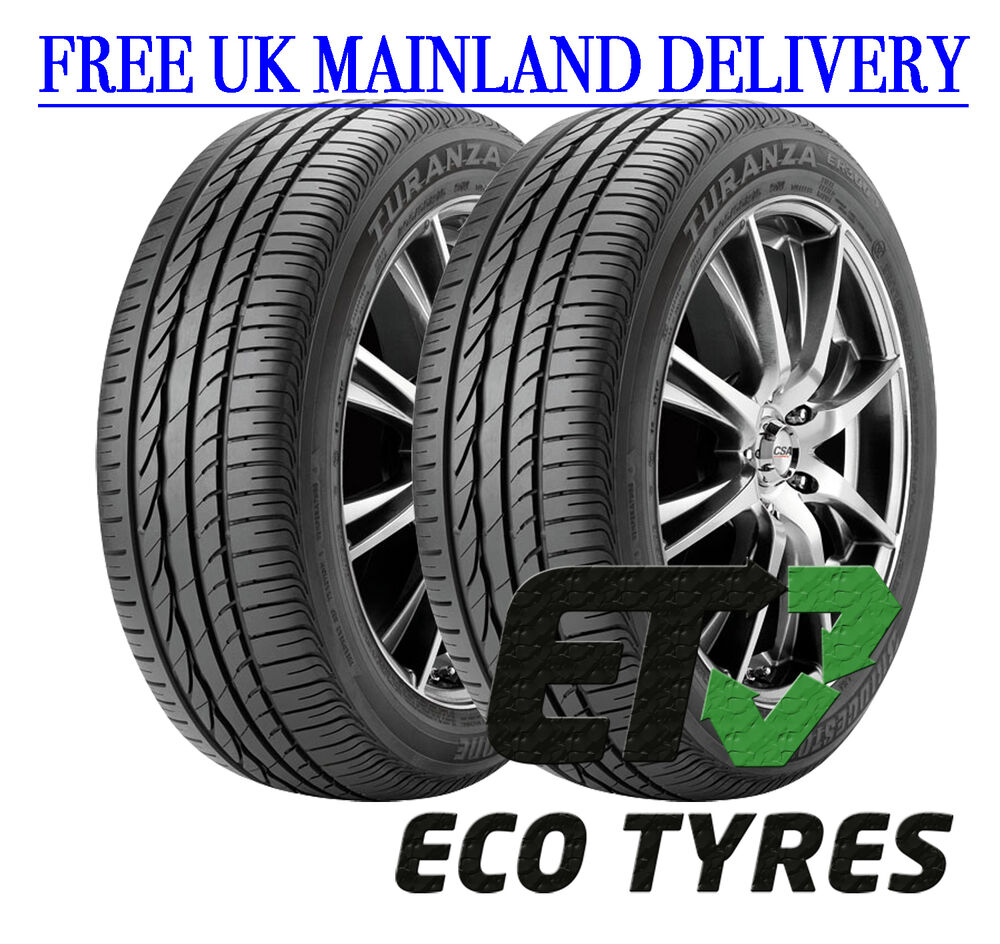 2x tyres 225 55 r17 97y bridgestone er300 rft run flat e c 71db ebay. Black Bedroom Furniture Sets. Home Design Ideas
