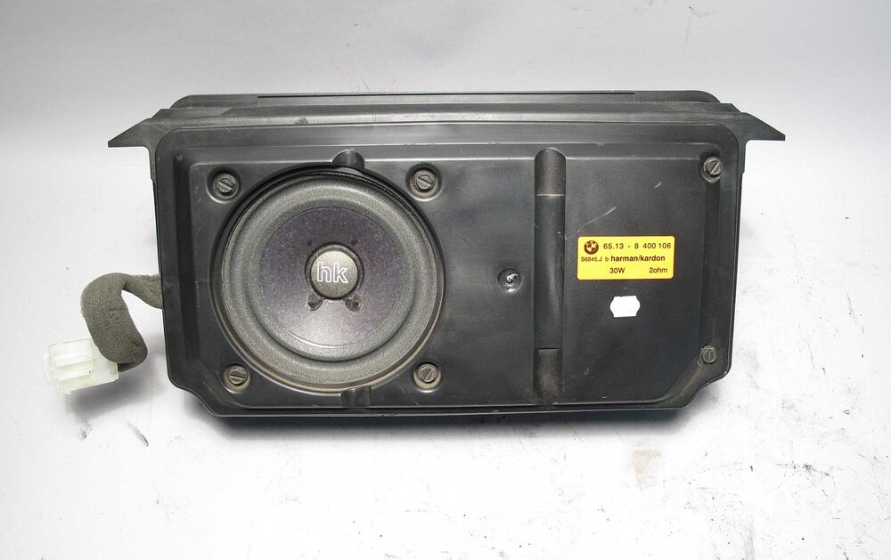 Bmw Z3 Roadster Harman Kardon Hk Rear Subwoofer Speaker