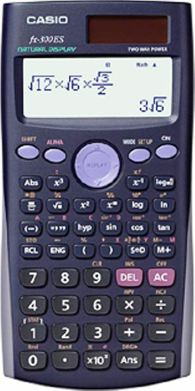 Casio Calculator Scientific Fx