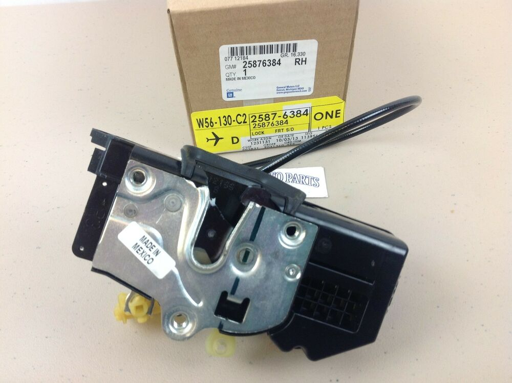 08 09 chevrolet silverado tahoe gmc sierra rh front side for 08 tahoe door lock actuator