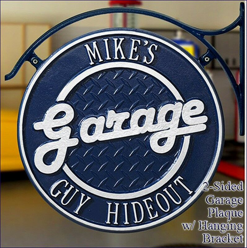 whitehall garage welcome personalized plaque with hanging ForPlaque Garage W