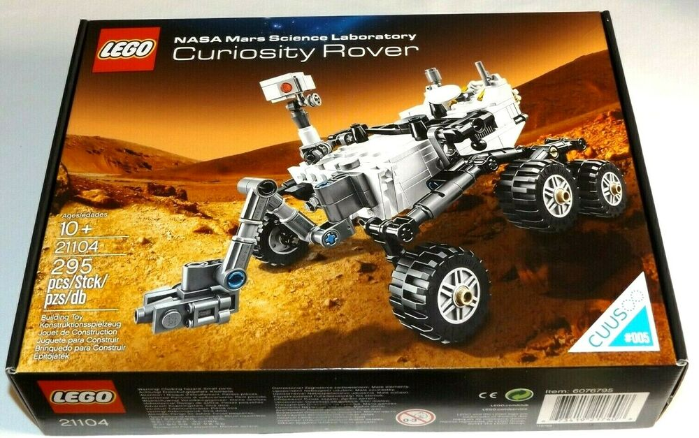 Lego Cuusoo Nasa Mars Science Laboratory Curiosity Rover 21104 005