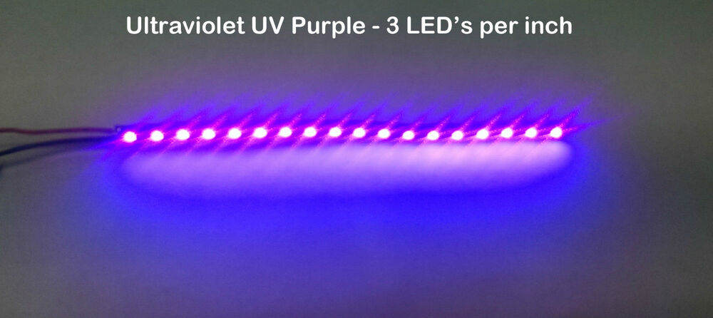 6 Quot Uv Purple Ultraviolet Led Strip 18 Smd Led Non