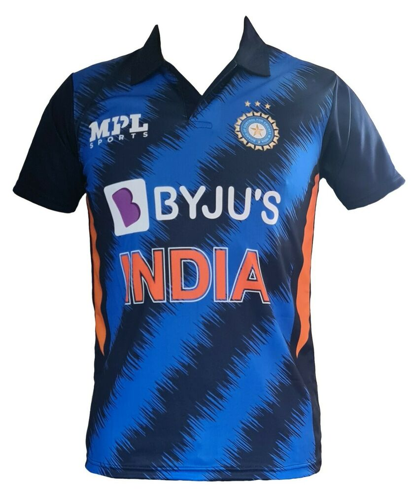 India Team ODI Cricket Jersey 2019 shirt IPL ODI T20 World Cup OPPO