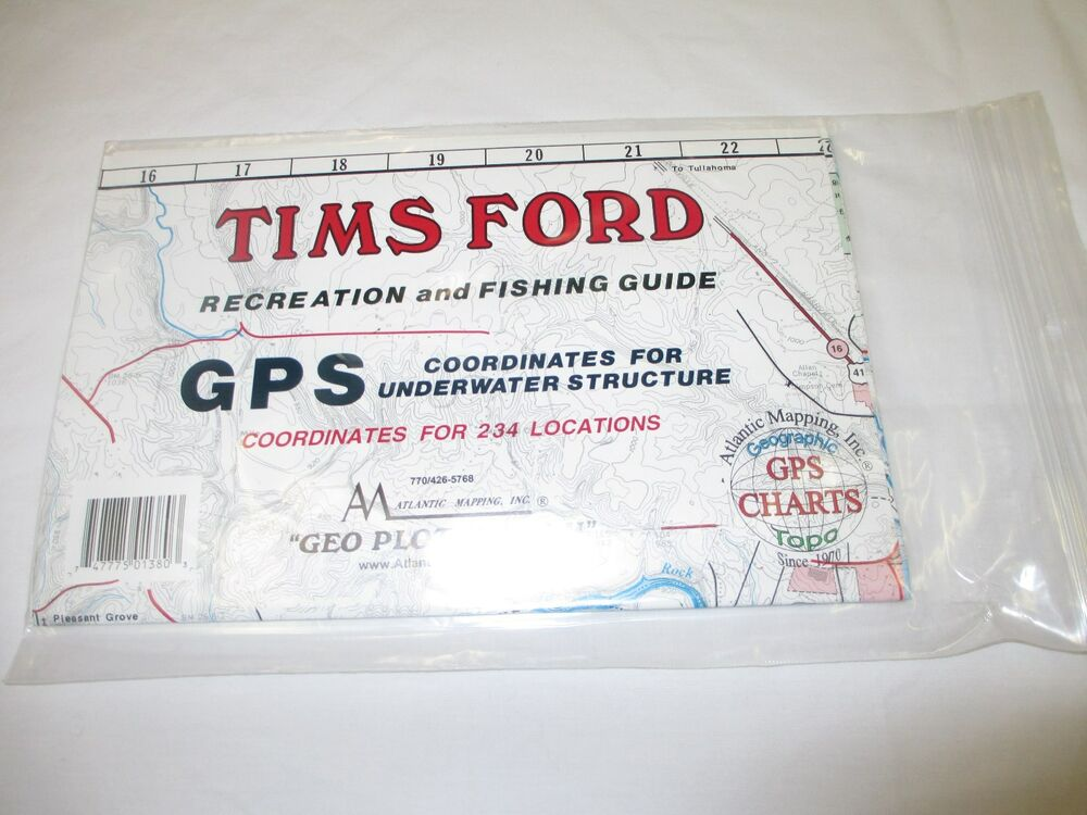 Atlantic Mapping Tims Ford Tennessee Geographic Gps