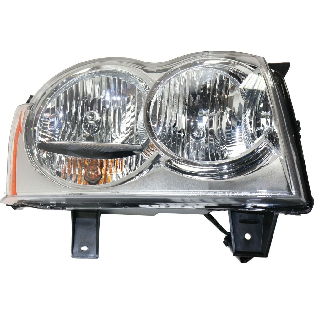headlight for 2005 2007 jeep grand cherokee passenger side. Black Bedroom Furniture Sets. Home Design Ideas