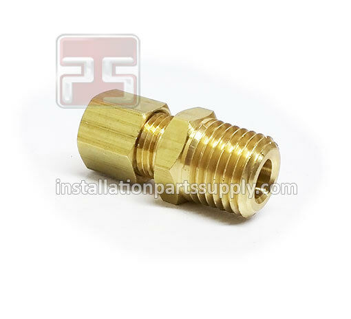 Compression male npt brass water oil gas air fuel boat