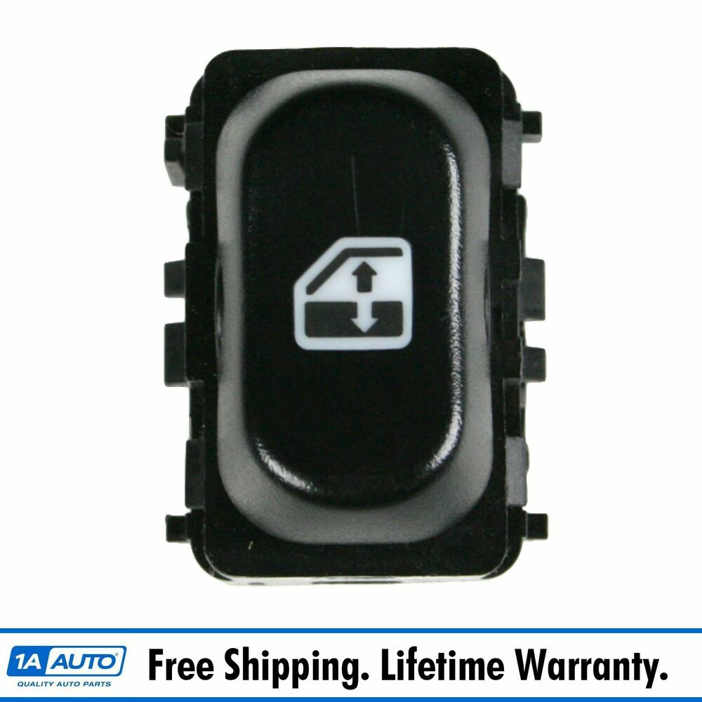 Power Window Switch Button Passenger Side Right RH For 95