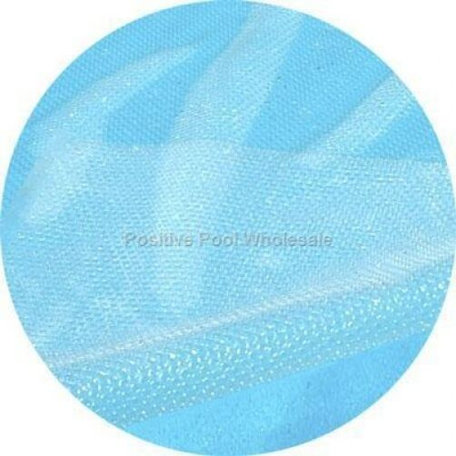 28 Round Swimming Pool Clear Solar Blanket Cover 12 Mil 5