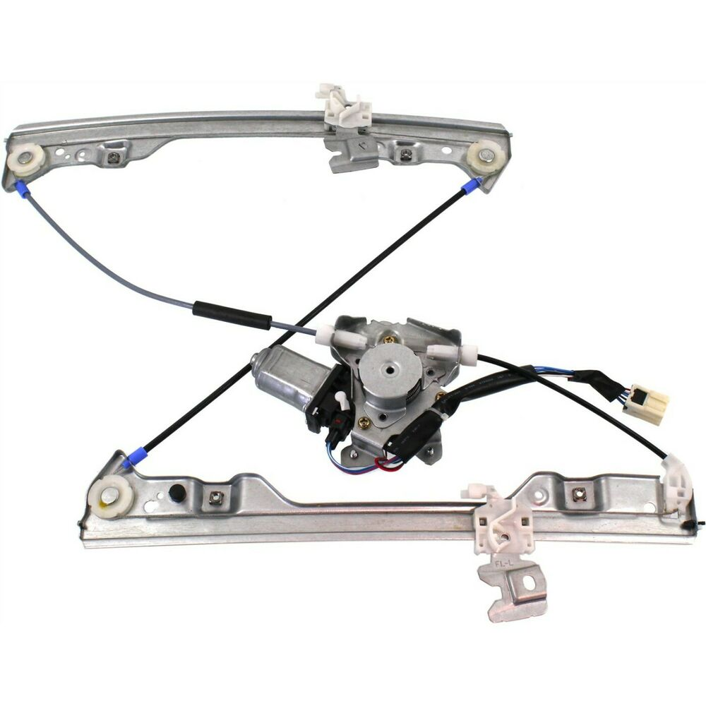 Power window regulator for 2002 2006 nissan altima front Window motor and regulator cost
