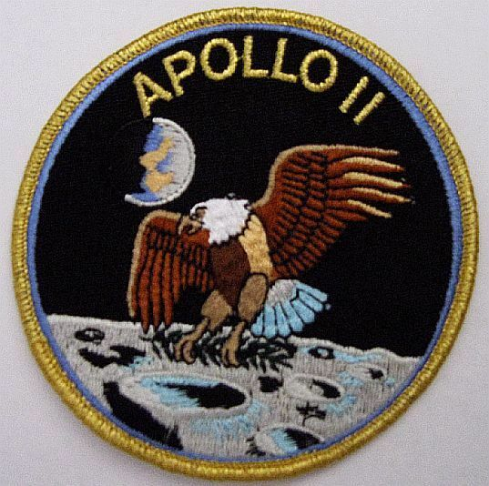 Apollo 11 Mission Patch Official NASA Neil Armstrong Buzz ...