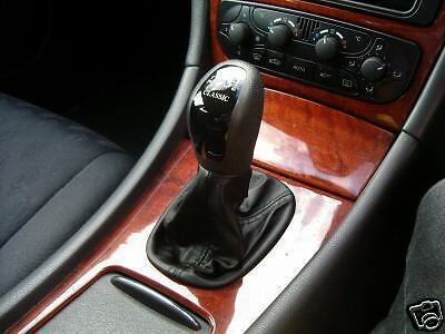 Fits mercedes 190 w124 c class shift boot genuine leather for Mercedes benz stick shift