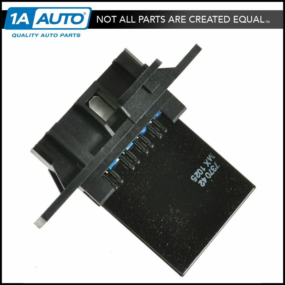 Heater blower motor resistor for nissan frontier xterra for Nissan quest blower motor resistor