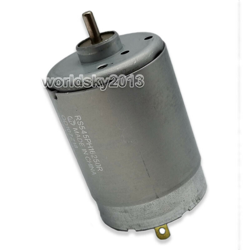 New Dc12v 10700rpm High Speed Double Shaft Micro Dc Motor