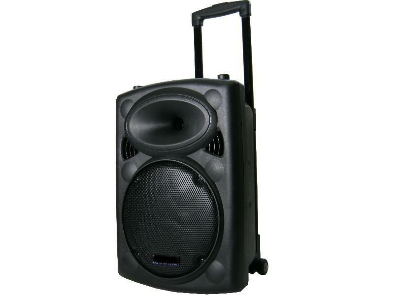 500 watt mobile dj pa party akku sound musik anlage. Black Bedroom Furniture Sets. Home Design Ideas