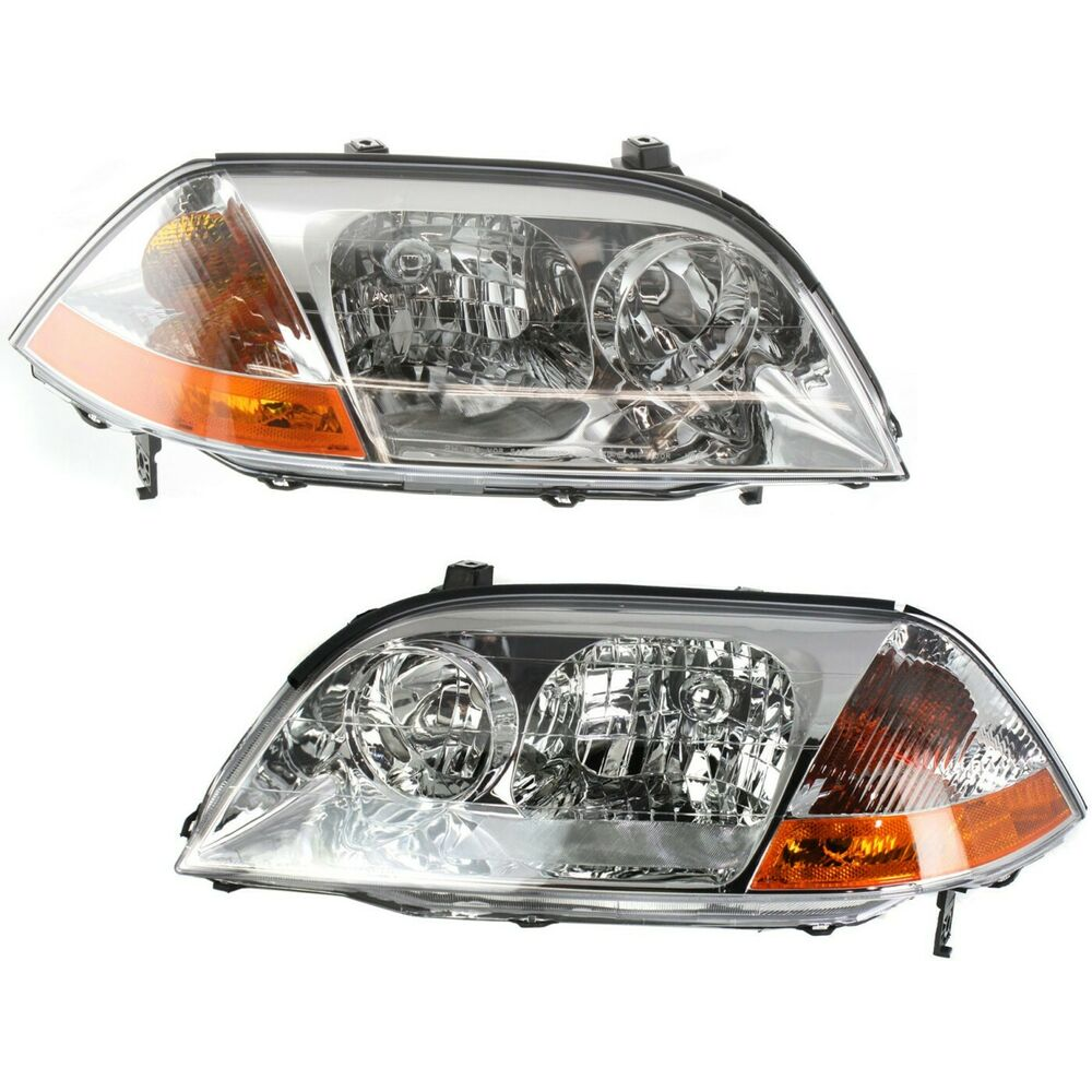 Headlight Set For 2001-2003 Acura MDX Driver And Passenger