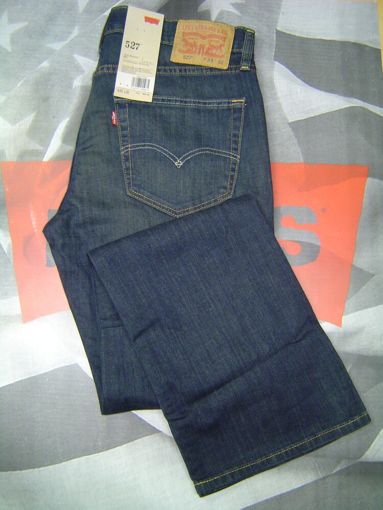LEVIu0026#39;S 527 MENu0026#39;S SLIM BOOT CUT LOW RISE ZIP FLY STRETCH JEANS COVERED UP | eBay