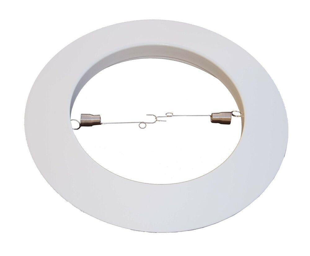 """6"""" Open Metal Trim Ring For Par38/R40 Recessed Can Light"""