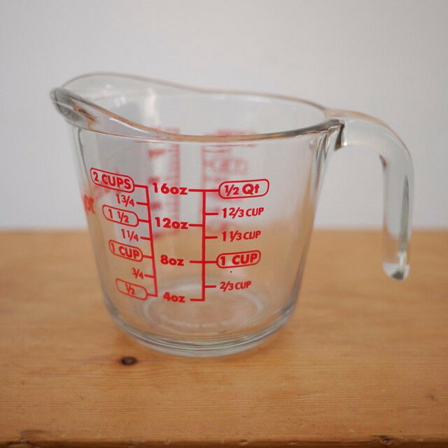 New Anchor Hocking Liquid Measuring Cup Glass 2 Cup 16 Oz
