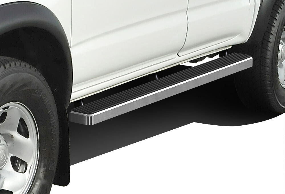 iboard running boards 4 fit 05 17 toyota tacoma double. Black Bedroom Furniture Sets. Home Design Ideas