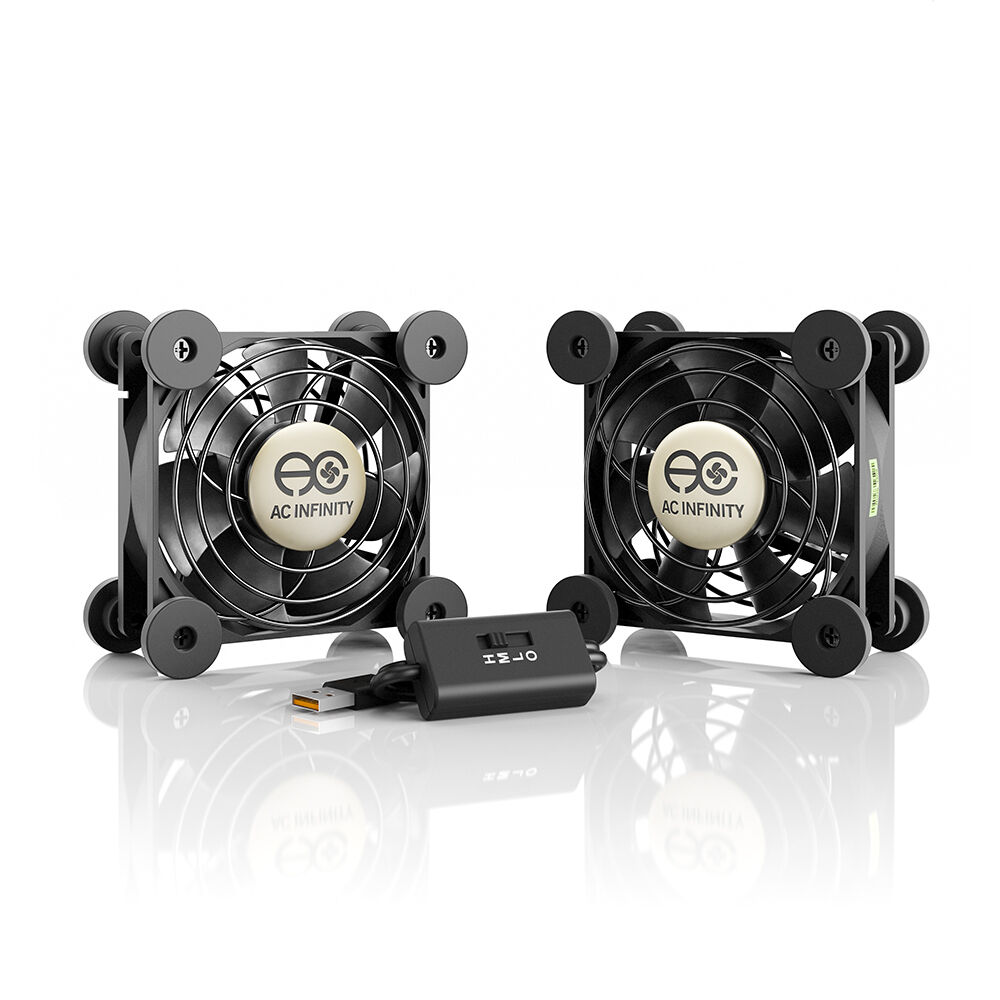 Multifan S5 Quiet Dual 80mm Usb Cooling Fan For Receiver