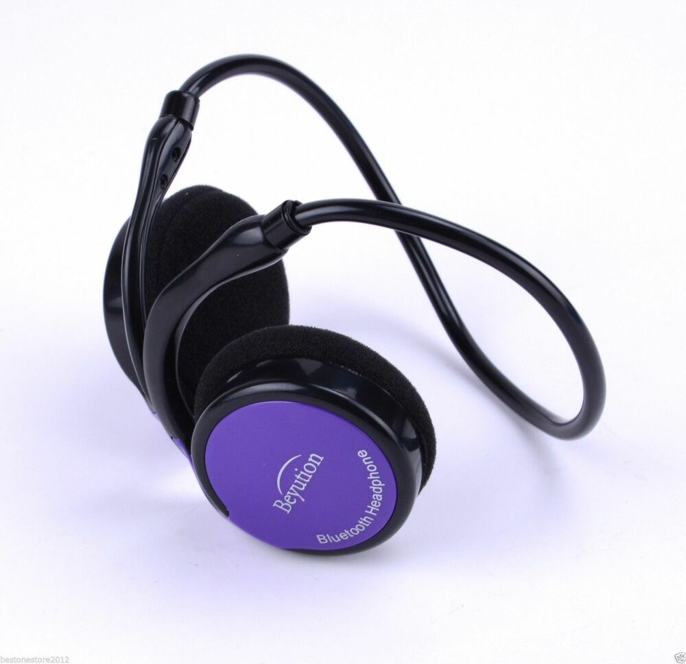 New Sports Light Bluetooth Headphones Headset For All CellPhone Laptop PC Tablet