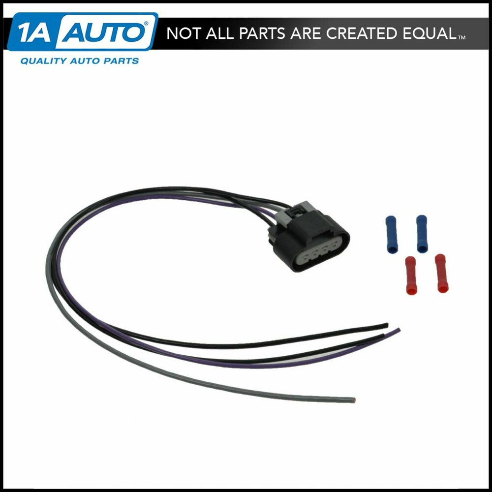 fuel pump wiring harness ebay Gm Wiring Harness Connectors fuel pump wiring harness with oval connector 4 wire pigtail for gm car pickup gm wiring harness connectors