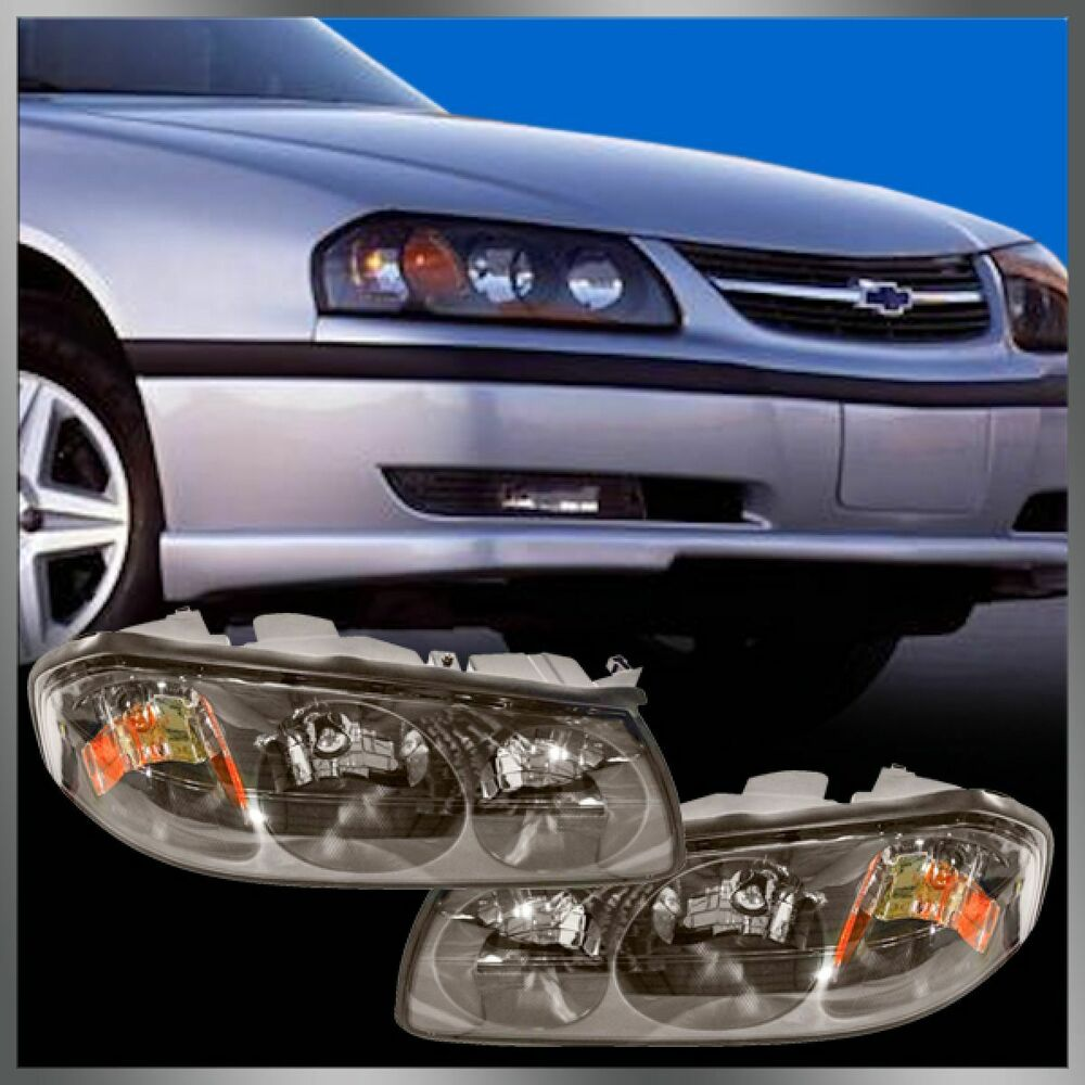 Headlights Headlamps Left Amp Right Pair Set For 00 04 Chevy